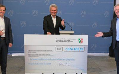 Politik fördert digitale Zukunft: 7,7 Mio. Euro für Europäisches Blockchain-Institut