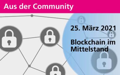 Blockchain im Mittelstand | 25. März 2021
