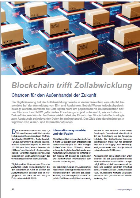 Cover Whitepaper Blockchain Europe
