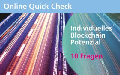 Quick Check: Gibt es Potenzial für Blockchain in Ihrem Unternehmen?