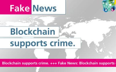 #Fakenews: Blockchain supports crime.